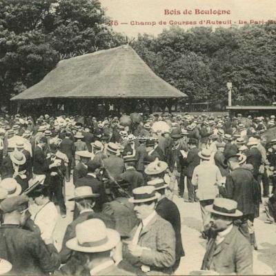 FF 35 - Bois de Boulogne -  Champ de Courses d'Auteuil - Le Pari-Mutuel