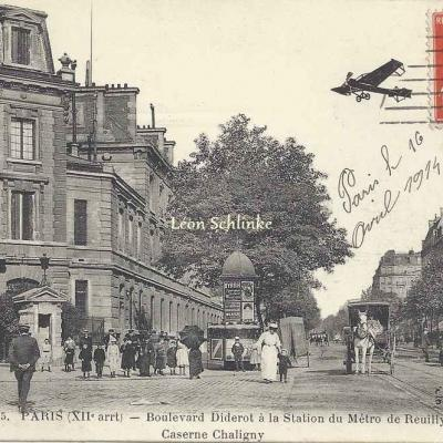 FF 355 - Boulevard Diderot à la Station Reuilly - Caserne Chaligny