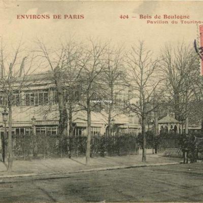 FF 404 - ENVIRONS DE PARIS - Bois de Boulogne - Pavillon du Touring-Club