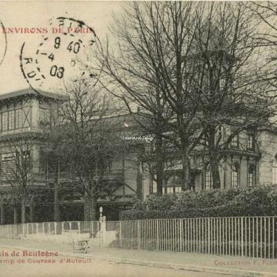 FF 414 - ENVIRONS DE PARIS - Bois de Boulogne - Tribunes du Champ de Courses d'Auteuil