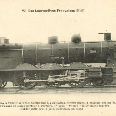 FF 42 - Les Locomotives Françaises (Midi)