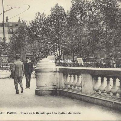 FF 453 bis - Place de la République à la station du métro