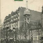 FF 490 - PARIS (XVIII° arr.) - L'Eglise St-Paul, Station ''Marcadet'', Boulevard Barbès