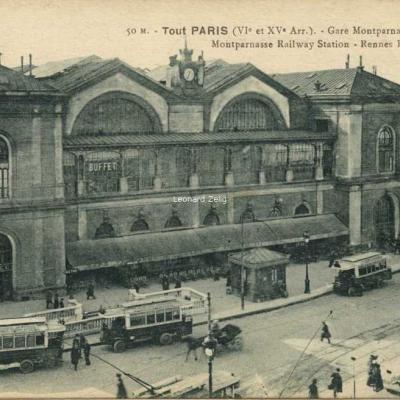 FF 50 M - Tout PARIS - Gare Montparnasse - Place de Rennes