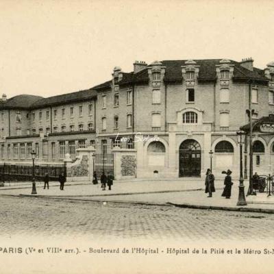 FF 514 - Boulevard de l'Hôpital et le Métro St-Marcel