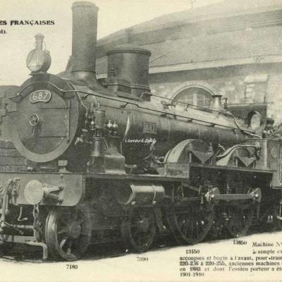 FF 52 - Les Locomotives Françaises (Etat)