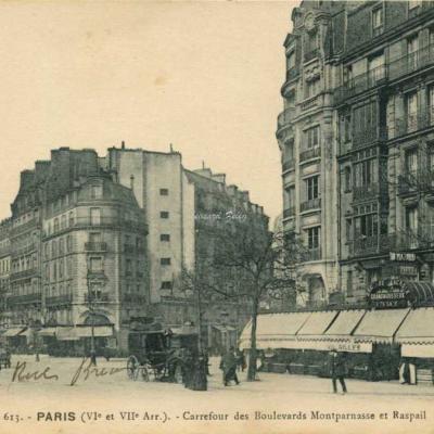 FF 613 - Carrefour des Boulevards Montparnessa et Rasp