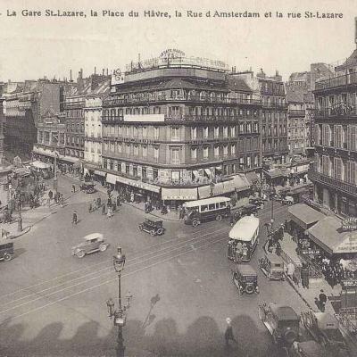 FF 63 - La Gare St-Lazare Place du Hâvre