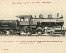 FF 66 - Locomotives étrangères (Etats-Unis d'Amérique)