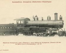 FF 67 - Locomotives étrangères (Etats-Unis d'Amérique)