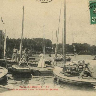 FF 67 - NOGENT-JOINVILLE - Bords de Marne - Les Voiliers en garage