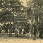 FF 681 - PARIS - La Place d'Italie - La Mairie - Vue prise de la Station du Métro