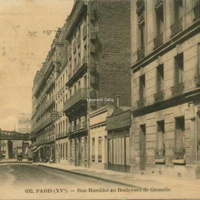 FF 692 - PARIS - Rue Humblot au Boulevard de Grenelle