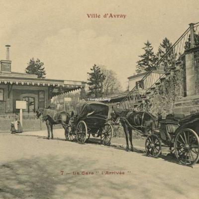FF 7 - Ville d'Avray - La Gare 'l'Arrivée'