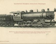 FF 8 - Locomotives étrangères (Etats-Unis d'Amérique)
