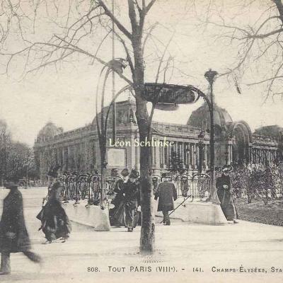FF 808 - Tout Paris 141 - Champs-Elysées, Station du Métro