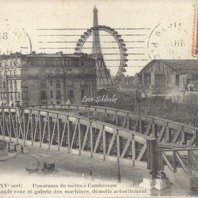 FF 858 - Panorama du Metro à Cambronne