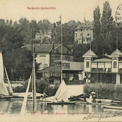 FF 89 - NOGENT-JOINVILLE - Bords de Marne - Vue artistique