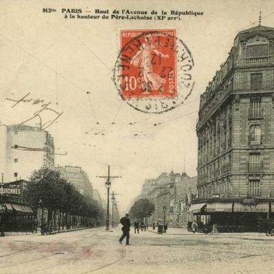 FF 912 bis - Haut de l'Avenue de la République