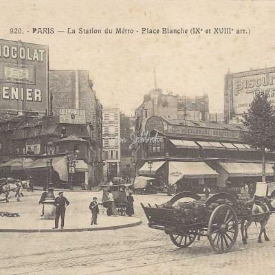 FF 920 - La Station du Métro - Place Blanche