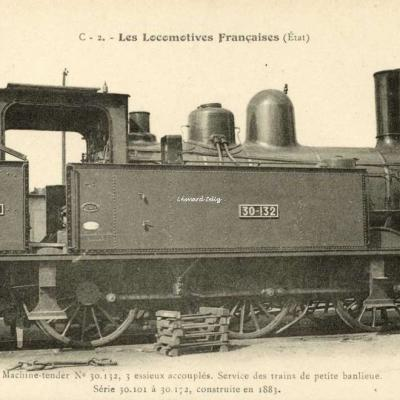 FF C-2 - Les Locomotives Françaises (Etat)