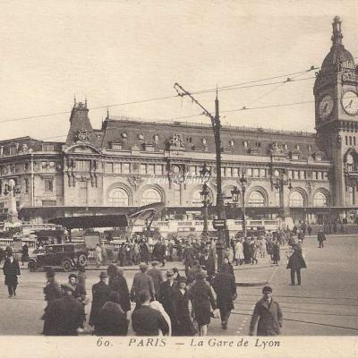FF edition d'Art 60 - La Gare de Lyon