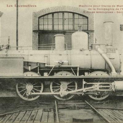 FF - Les Locomotives - Machine pour trains de Marchandises