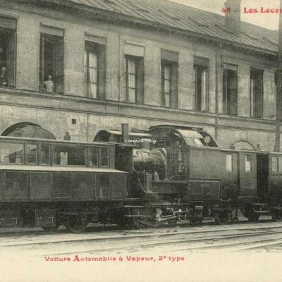 FF - Les Locomotives (Nord) - Voiture Automobile à Vapeur, 2° type