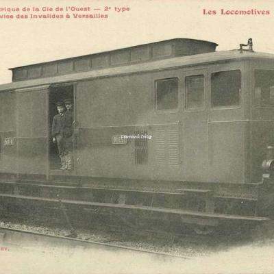 FF - Les Locomotives - Tracteur électrique de la Cie de l'Ouest