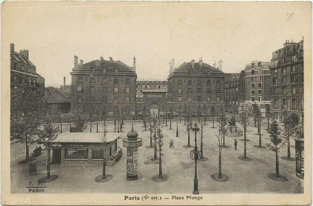 FF - Paris (V° arr.) - Place Monge