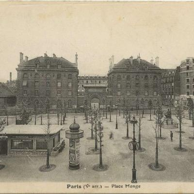 FF - Paris (V° arr.) - Place Monge