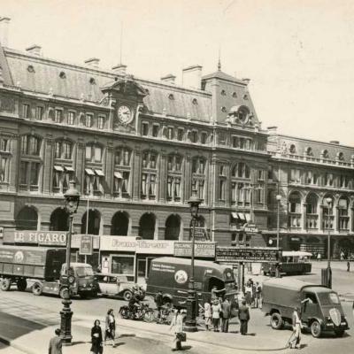 GALF 89 - La Gare St-Lazare (Cour de Rome)