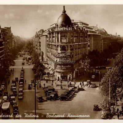 Gany 1565 - Paris - Boulevards des Italiens et Haussmann