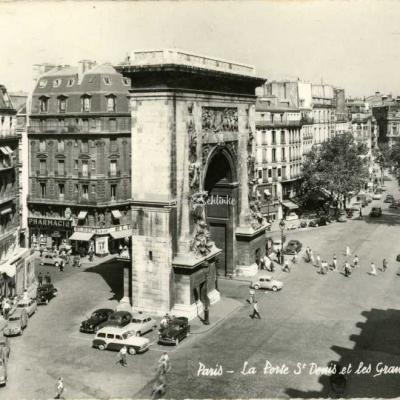 Gany 3542 - La Porte St-Denis et les Grands Boulevards