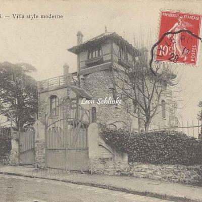 Garches - Edit. Mariquot - Villa style moderne
