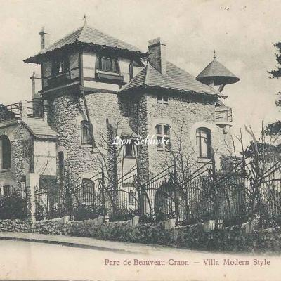 Garches - Trianon 1588 - Parc de Beauveau-Craon