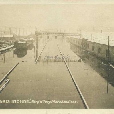 Gare d'Ivry · Marchandises