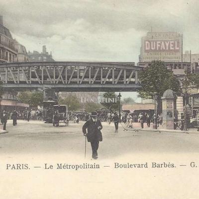 GB 124 - Le Métropolitain - Boulevard Barbès