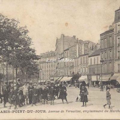 GB 3 - Point-du-Jour, Av. de Versailles, le Marché
