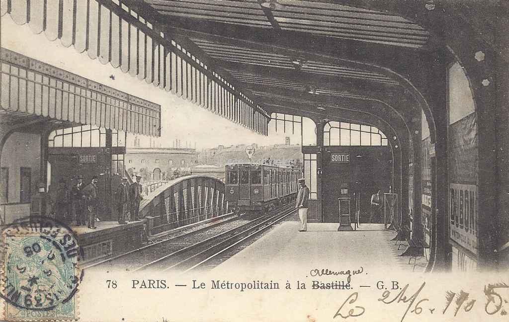 GB 78 - Le Métropolitain à la Bastille