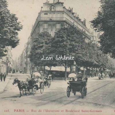 GBRR 105 - Rue de l'Universté et Boulevard Saint-Germain