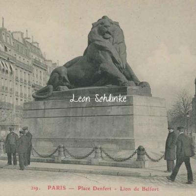GBRR 219 - Place Denfert - Lion de Belfort