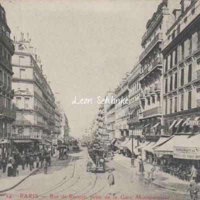GBRR 24 - Rue de Rennes prise de la Gare Montparnasse