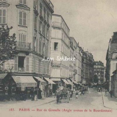 GBRR 283 - Rue de Grenelle (Angle avenue de la Bourdonnais)