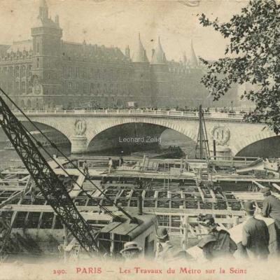 GBRR 290 - Les Travaux du Métro sur la Seine
