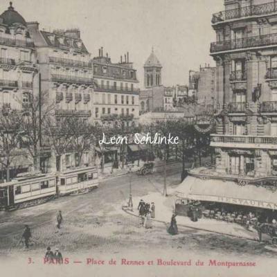 GBRR 3 - Place de Rennes et Boulevard du Montparnasse