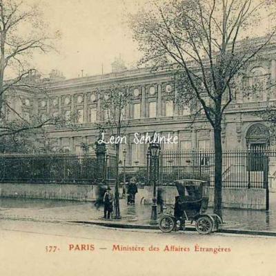 GBRR 377 - Ministère des Affaires Etrangères