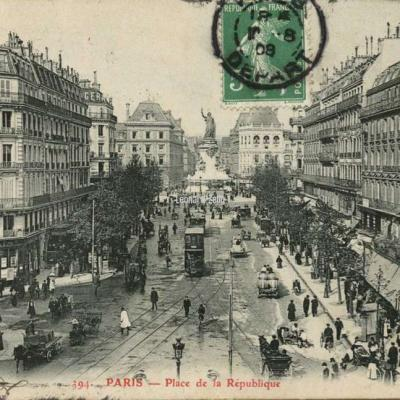 GBRR 394 - PARIS - Place de la République