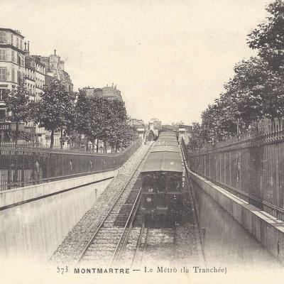 GCA 573 - Montmartre - Le Metro (la Tranchée)