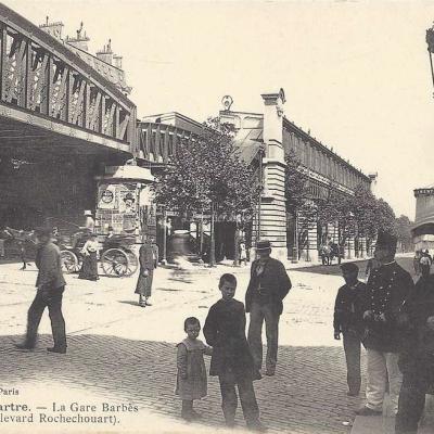 GCA 637 - Montmartre - La Gare Barbès